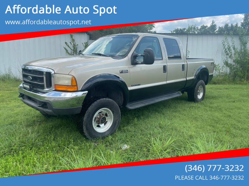 2000 Ford F-350 Super Duty for sale at Affordable Auto Spot in Houston TX