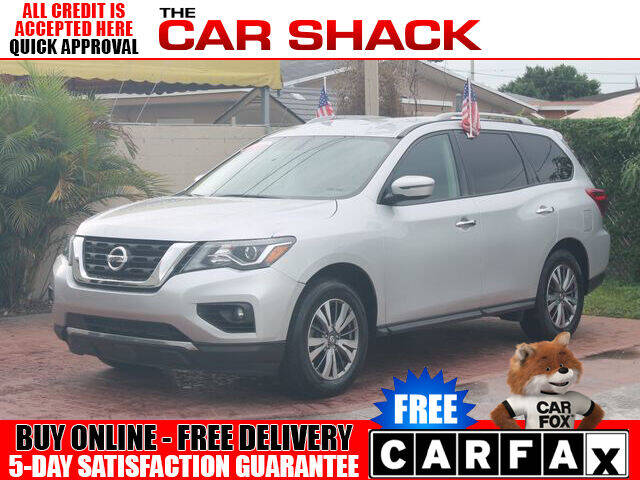 2018 Nissan Pathfinder for sale at The Car Shack in Hialeah FL
