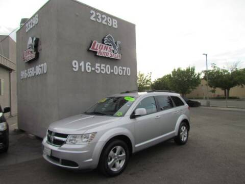 2009 Dodge Journey for sale at LIONS AUTO SALES in Sacramento CA