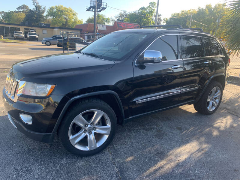 2013 Jeep Grand Cherokee for sale at Castle Used Cars in Jacksonville FL