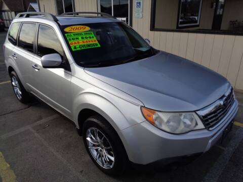 2009 Subaru Forester for sale at BBL Auto Sales in Yakima WA