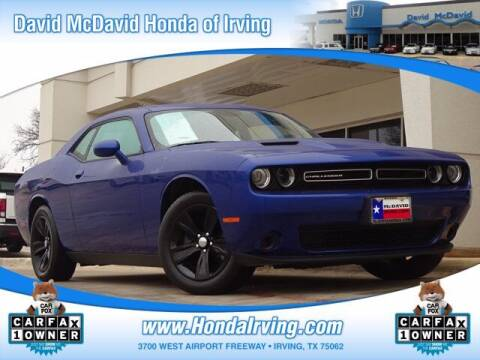 2019 Dodge Challenger for sale at DAVID McDAVID HONDA OF IRVING in Irving TX