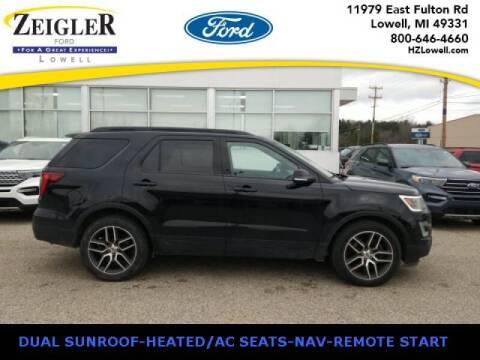 2017 Ford Explorer for sale at Zeigler Ford of Plainwell- michael davis in Plainwell MI