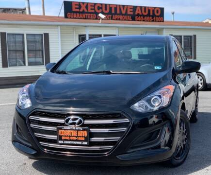 2016 Hyundai Elantra GT for sale at Executive Auto in Winchester VA