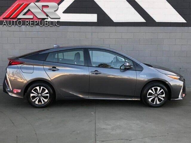 2017 Toyota Prius Prime for sale at Auto Republic Fullerton in Fullerton CA