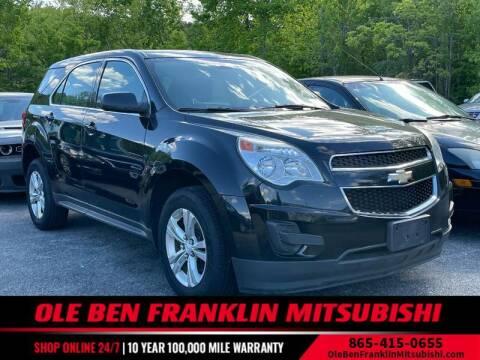 2014 Chevrolet Equinox for sale at Ole Ben Franklin Mitsbishi in Oak Ridge TN