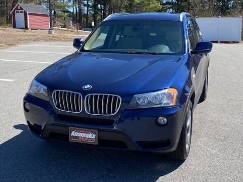 2012 BMW X3 for sale at Anamaks Motors LLC in Hudson NH
