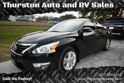 2014 Nissan Altima for sale at Thurston Auto and RV Sales in Clermont FL