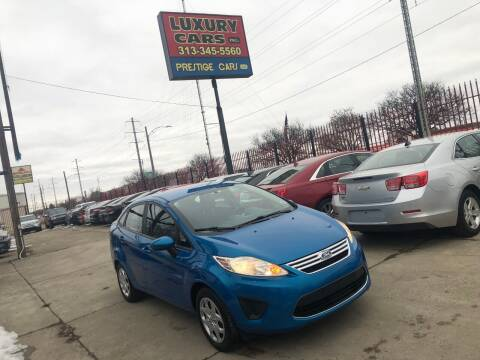 2012 Ford Fiesta for sale at Dymix Used Autos & Luxury Cars Inc in Detroit MI