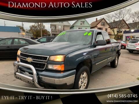 2006 Chevrolet Silverado 1500 for sale at Diamond Auto Sales in Milwaukee WI