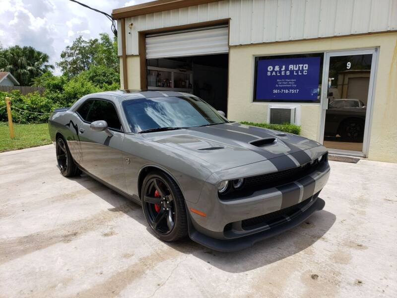2017 Dodge Challenger for sale at O & J Auto Sales in Royal Palm Beach FL