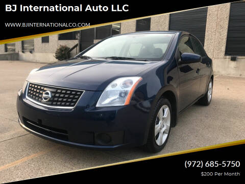 2007 Nissan Sentra for sale at BJ International Auto LLC in Dallas TX