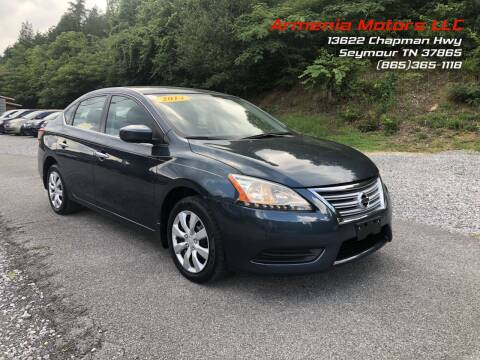 2014 Nissan Sentra for sale at Armenia Motors in Seymour TN