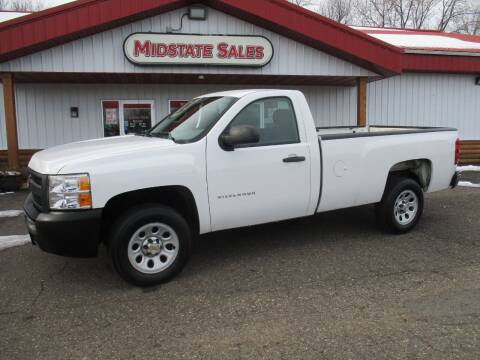 2013 Chevrolet Silverado 1500 for sale at Midstate Sales in Foley MN