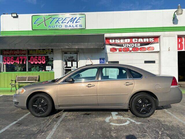 2007 Chevrolet Impala for sale at Extreme Auto Sales in Clinton Township MI