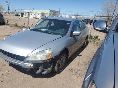 2007 Honda Accord for sale at PYRAMID MOTORS - Fountain Lot in Fountain CO