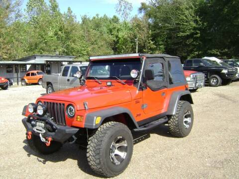 1999 Jeep Wrangler for sale at Tom Boyd Motors in Texarkana TX