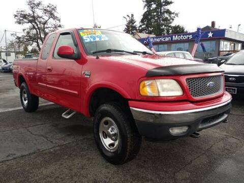 1999 Ford F-150 for sale at All American Motors in Tacoma WA