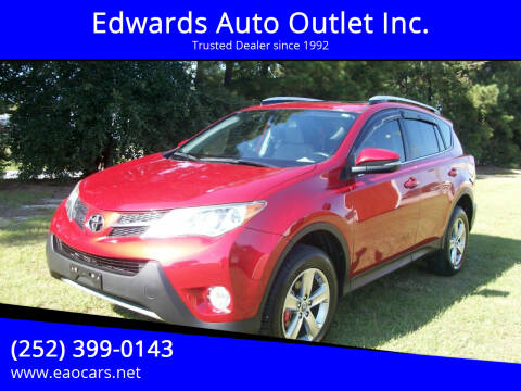 2015 Toyota RAV4 for sale at Edwards Auto Outlet Inc. in Wilson NC