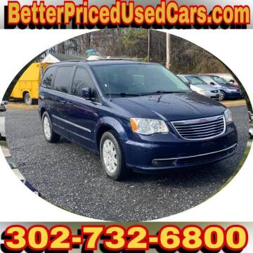 2015 Chrysler Town and Country for sale at Better Priced Used Cars in Frankford DE