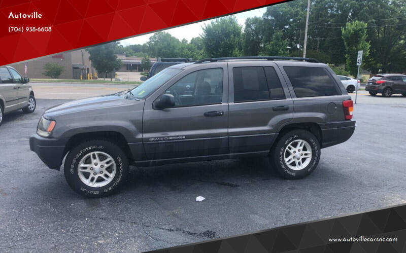 2004 Jeep Grand Cherokee for sale at Autoville in Kannapolis NC