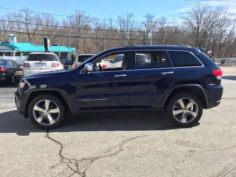 2015 Jeep Grand Cherokee for sale at M G Motors in Johnston RI