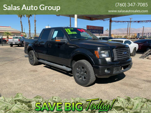 2012 Ford F-150 for sale at Salas Auto Group in Indio CA