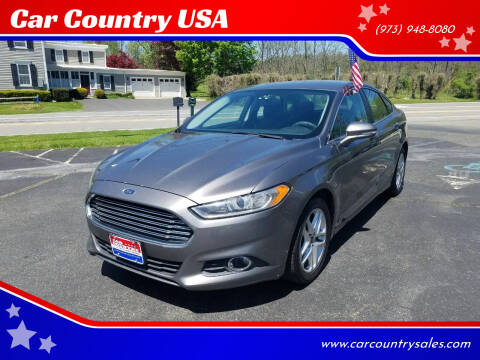 2013 Ford Fusion for sale at Car Country USA in Augusta NJ