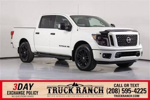 2018 Nissan Titan for sale at Truck Ranch in Twin Falls ID