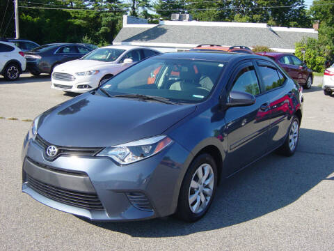 2017 Toyota Corolla for sale at North South Motorcars in Seabrook NH