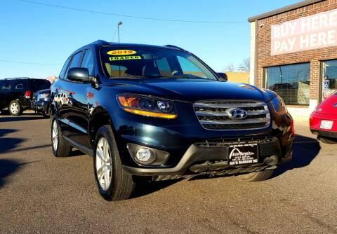 2012 Hyundai Santa Fe for sale at AUTO BARGAIN, INC. #2 in Oklahoma City OK