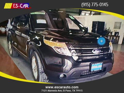 2011 Ford Explorer for sale at Escar Auto in El Paso TX