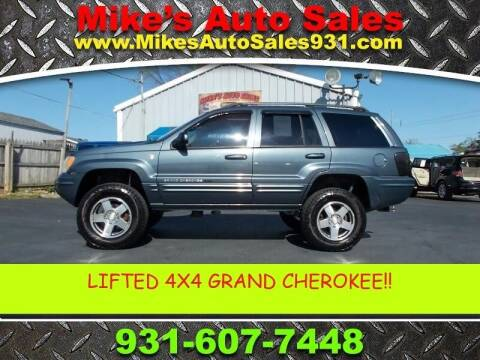 2004 Jeep Grand Cherokee for sale at Mike's Auto Sales in Shelbyville TN
