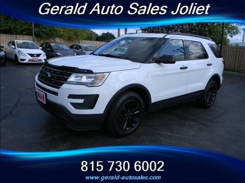 2016 Ford Explorer for sale at Gerald Auto Sales in Joliet IL