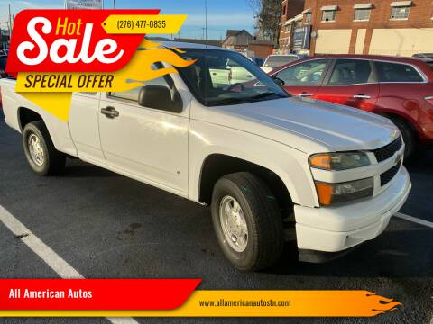 2008 Chevrolet Colorado for sale at All American Autos in Kingsport TN