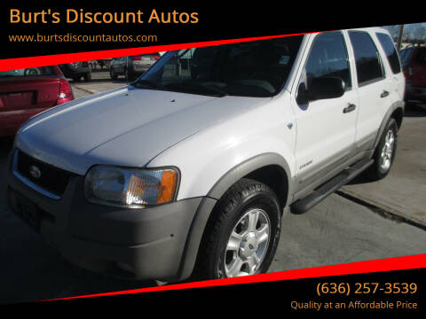 2002 Ford Escape for sale at Burt's Discount Autos in Pacific MO