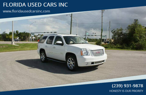 2013 GMC Yukon for sale at FLORIDA USED CARS INC in Fort Myers FL