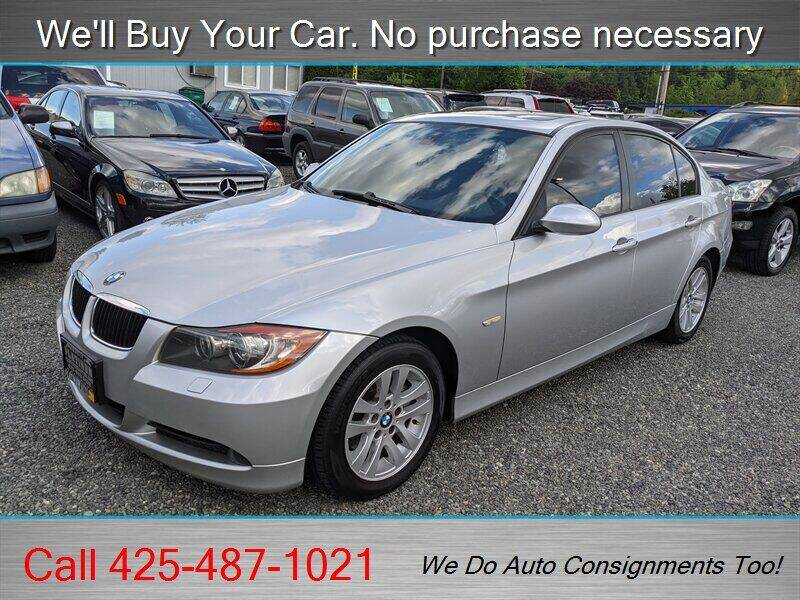 2007 BMW 3 Series for sale at Platinum Autos in Woodinville WA