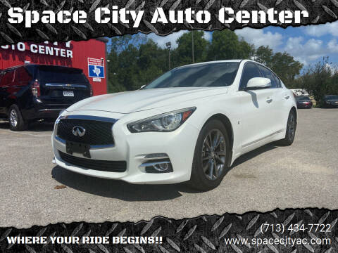 2015 Infiniti Q50 for sale at Space City Auto Center in Houston TX