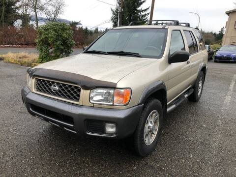 2000 Nissan Pathfinder for sale at KARMA AUTO SALES in Federal Way WA