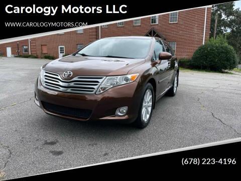2009 Toyota Venza for sale at Carology Motors LLC in Marietta GA