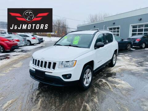 2011 Jeep Compass for sale at J & J MOTORS in New Milford CT