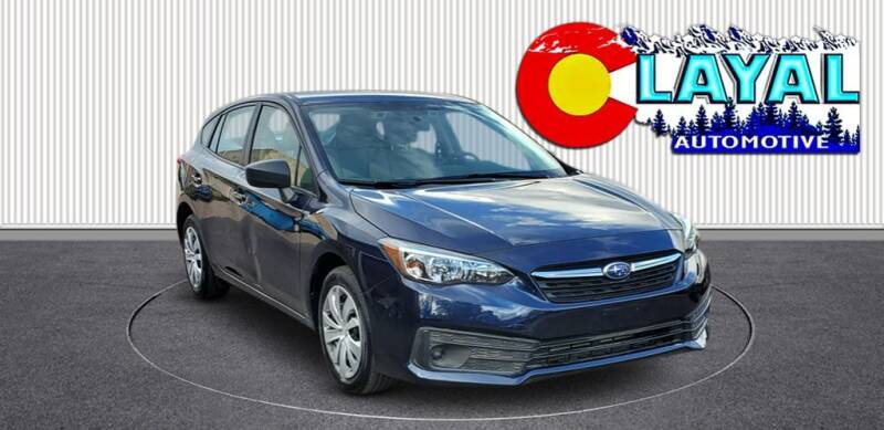 2021 Subaru Impreza for sale at Layal Automotive in Englewood CO