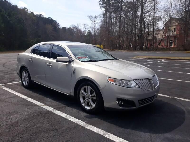 2009 Lincoln MKS for sale at JCW AUTO BROKERS in Douglasville GA