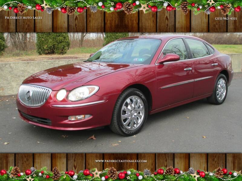 2008 Buick LaCrosse for sale at PA Direct Auto Sales in Levittown PA