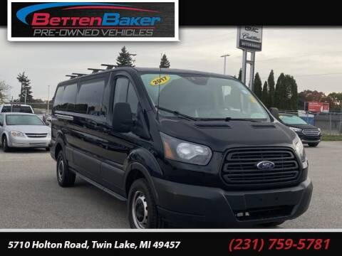 2017 Ford Transit Passenger for sale at Betten Baker Preowned Center in Twin Lake MI
