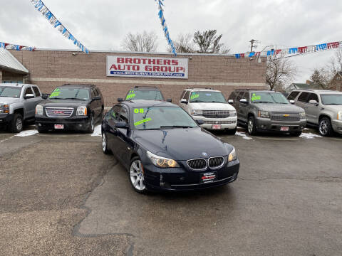 2008 BMW 5 Series for sale at Brothers Auto Group in Youngstown OH