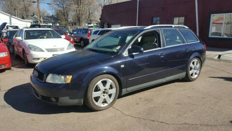 2003 Audi A4 for sale at B Quality Auto Check in Englewood CO