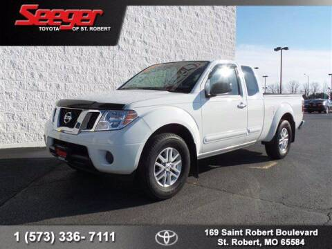 2017 Nissan Frontier for sale at SEEGER TOYOTA OF ST ROBERT in St Robert MO