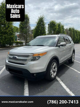 2015 Ford Explorer for sale at Maxicars Auto Sales in West Park FL